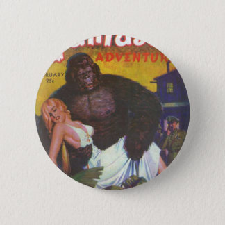 Gorilla Boyfriend 2 Inch Round Button