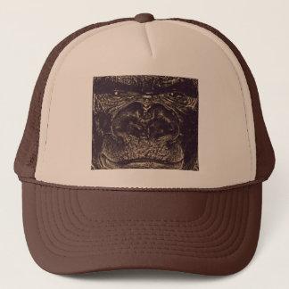 Gorilla, Close Up Face (gfaceacc) Trucker Hat