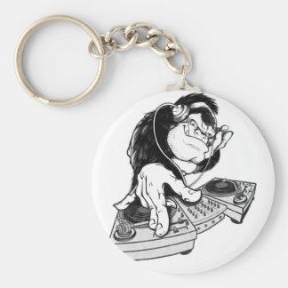 Gorilla DJ Unique design Keychain