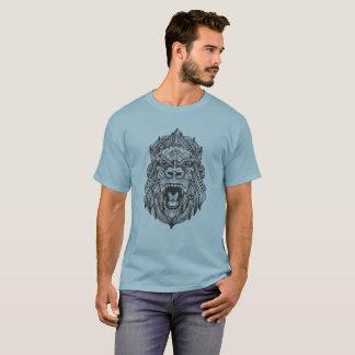 Gorilla made from Mandalas and Tribal Shirt