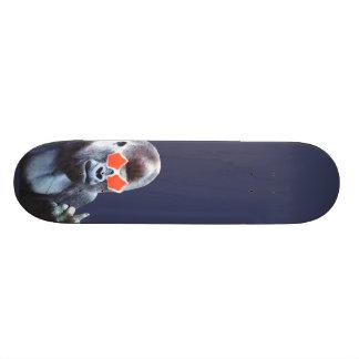Gorilla middlefinger Street Art skateboard