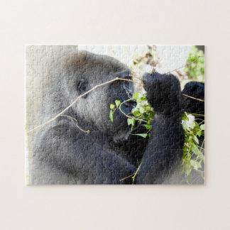 Gorilla Mist Jigsaw Puzzle