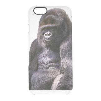 Gorilla Monkey Ape Clear iPhone 6/6S Case