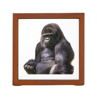 Gorilla Monkey Ape Desk Organizer
