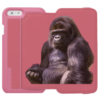Gorilla Monkey Ape Incipio Watson™ iPhone 6 Wallet Case