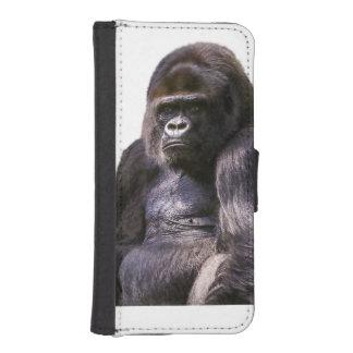 Gorilla Monkey Ape iPhone SE/5/5s Wallet Case