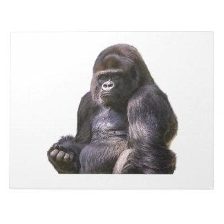 Gorilla Monkey Ape Notepad