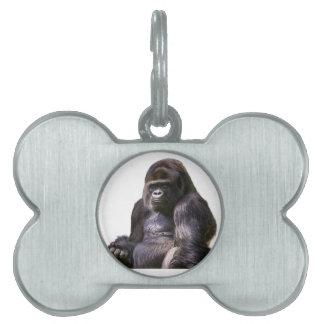 Gorilla Monkey Ape Pet Tag