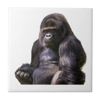 Gorilla Monkey Ape Tile