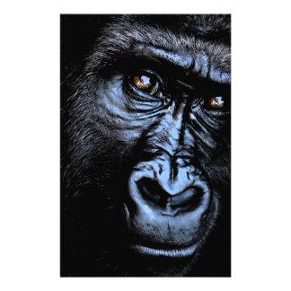 Gorilla Personalized Stationery