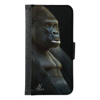 Gorilla Photo Samsung Galaxy S6 Wallet Case