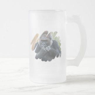 Gorilla Primate Frosted Mug