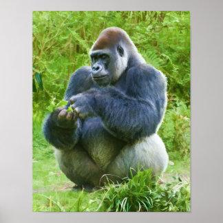 Gorilla Print