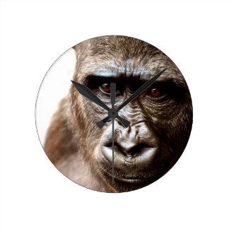 gorilla round clock
