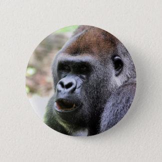 Gorilla say 2 inch round button