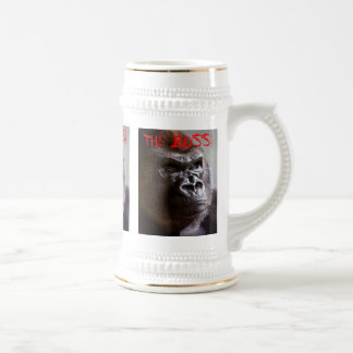 Gorilla Silverback The Boss King Sized Stein
