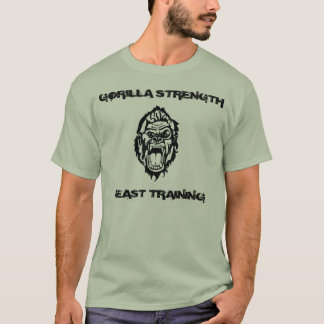 GORILLA STRENGTH BEAST TRAINING T-Shirt