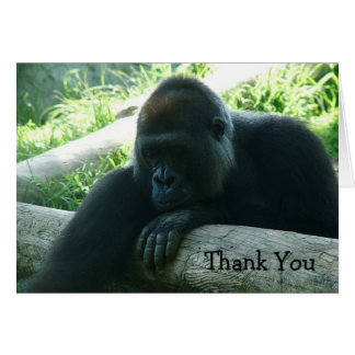 Gorilla Thank You Cards