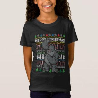 Gorilla Ugly Christmas Sweater Wildlife Series