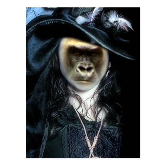 Gorilla Witch_ Postcard