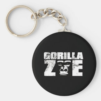 Gorilla Zoe Keychain - Logo