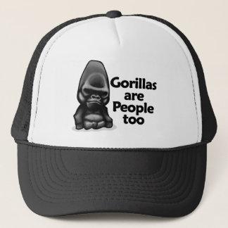 Gorillas are People too Trucker Hat