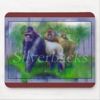 Gorillas in Our Midst Mouse Pad
