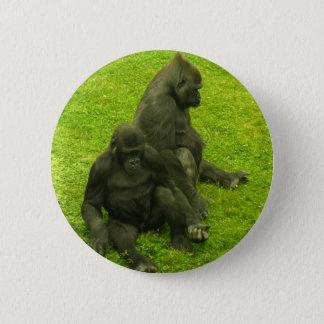 Gorillas of Africa,primates, photography 2 Inch Round Button