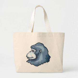 Gorille allé sac de toile