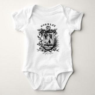 gormley reunion crest baby bodysuit
