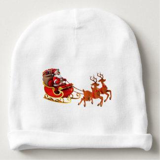 "Gorrinho for baby ""Papa Noel and its sleigh "" Baby Beanie"