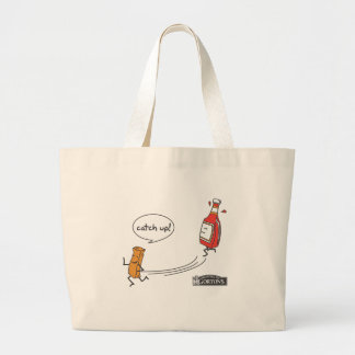 Gorton's Catch Up! Large Tote Bag