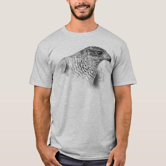 Goshawk Drawing T-Shirt