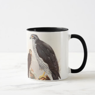 Goshawk John Gould Birds of Great Britain Wildlife Mug