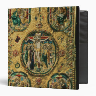 Gospel cover, gold with repousse vinyl binders