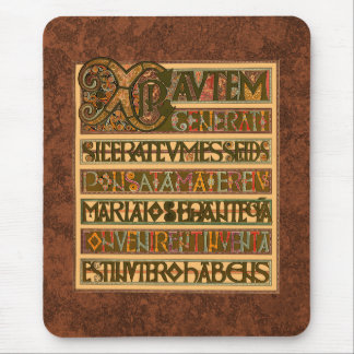Gospel History of St. Matthew 8th Century Mouse Pad