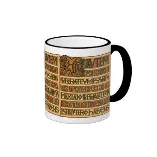 Gospel History of St Matthew 8th Century Mugs