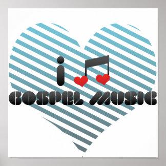 Gospel Music Print