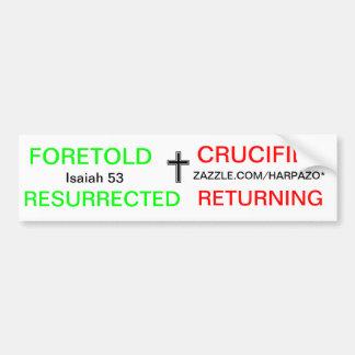 Gospel nutshell bumper sticker