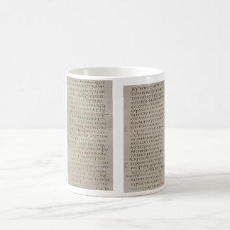 Gospel of John Sinaiticus Mug