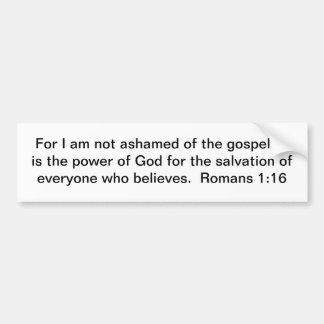Gospel Power! Bumper Sticker