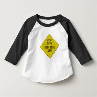 Gossip Not Toddler Raglan T-Shirt