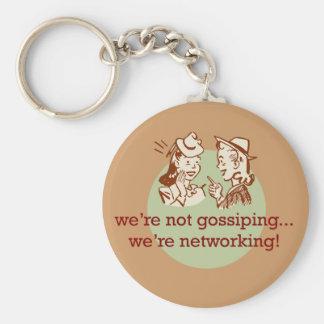 Gossiping Women Keychain