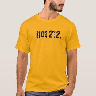 got 212. t-shirt