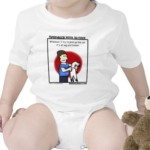 got a friend with autism or a cat or both? baby bodysuit