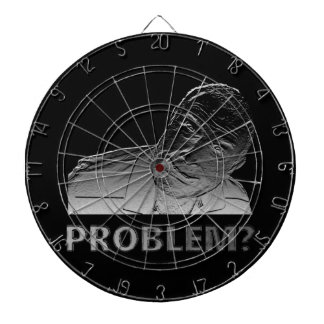 Got a problem? dartboard