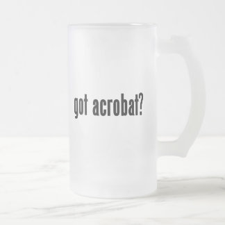 got acrobat? coffee mug