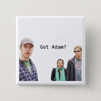 Got Adam? 2 Inch Square Button