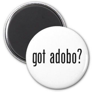 Got Adobo 2 Inch Round Magnet