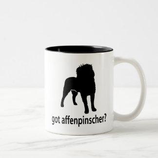 Got Affenpinscher Two-Tone Coffee Mug